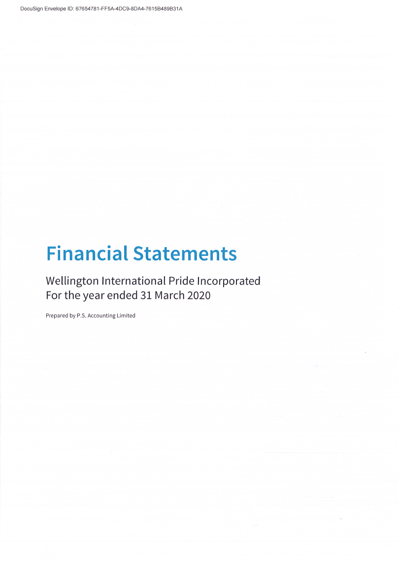 2020 Financial Statements